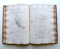 Registre des observations de Jean-Dominique Cassini